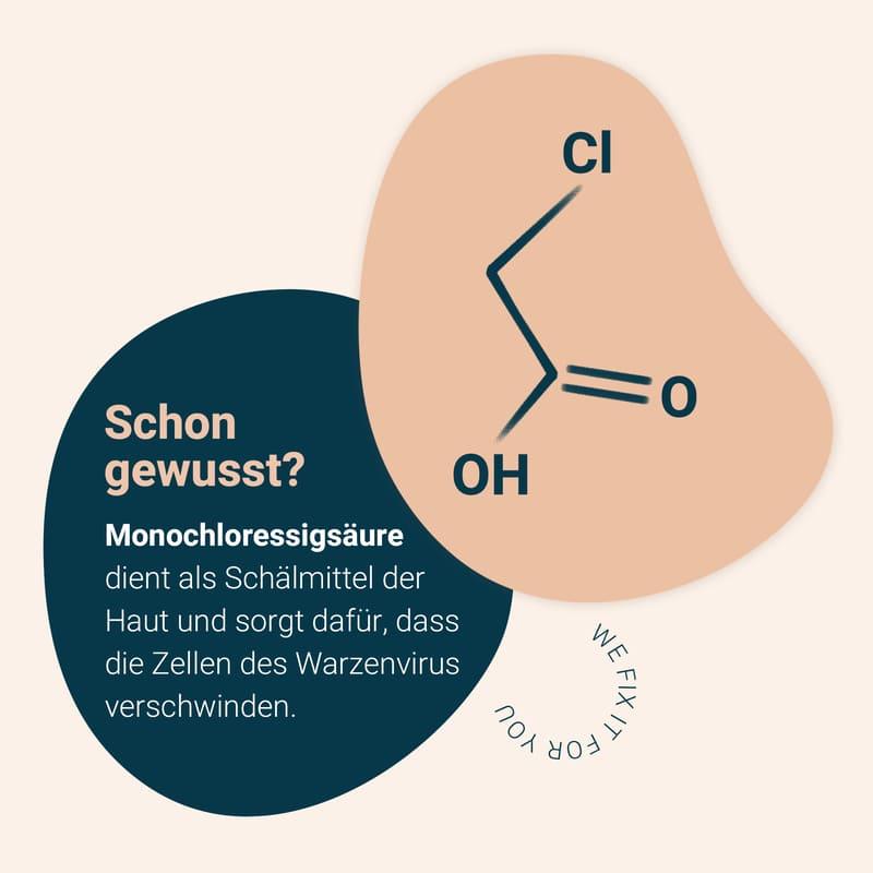 information und Fakten über Monochloressigsäure